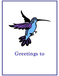 Greetings to