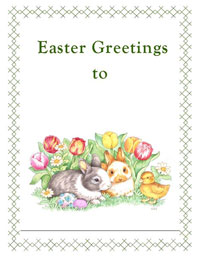 Easter Greetings to